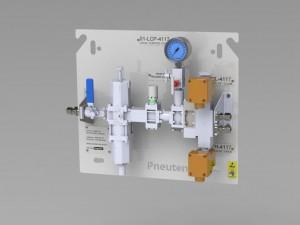 Pneuton control panel 3D Model 13 April 2017