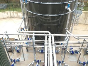 anaerobic digestion application using Orbinox knife gate valves