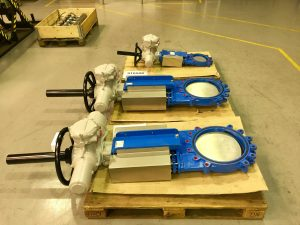 Orbinox Knife Gate Valves for high integrity process isolation