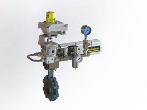 InterApp Desponia Butterfly Valve with Bettis Actuator, Pneuton Controls & Westlock Monitor