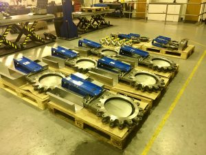 Orbinox EX Series Knife Gate Valve