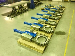Drilling Mud Fluid Knife Gate Valves