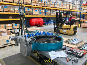 Resilient seated butterfly valve, the Desponia from InterApp