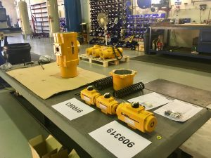 Fast track delivery on el o matic actuators