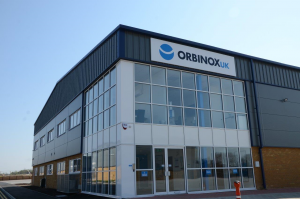 Orbinox UK new building