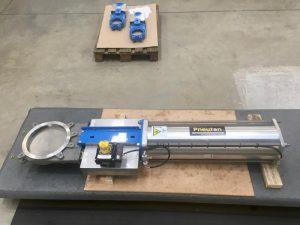 Biogas Knife Gate valve